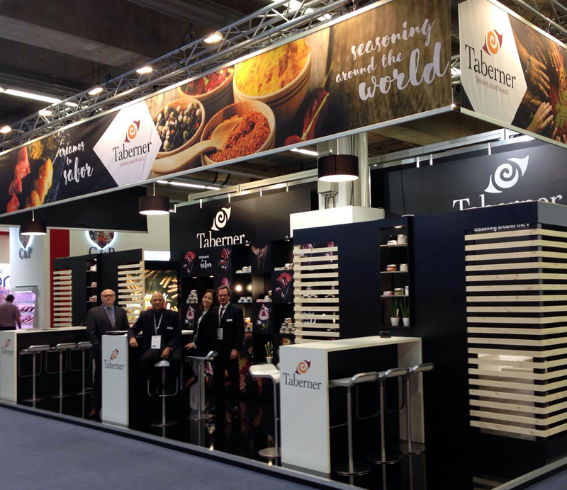 Taberner en IFFA 2016, Feria Internacional de la Industria de la Carne y sus Procesos