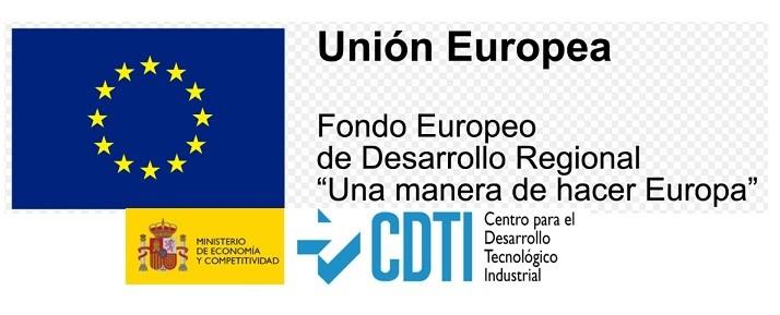 Manufacturas Taberner recibe apoyo financiero del Fondo Europeo de Desarrollo Regional (FEDER) y del Centro para el Desarrollo Tecnológico Industrial (CDTI) para la realización de un proyecto de I+D+i.